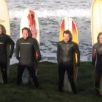 Enoy surfing at Donegal Adventure Centre