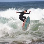 Surfing off the West Coast of Ireland