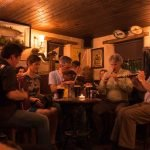 Traditional Irish Music session in a local pub
